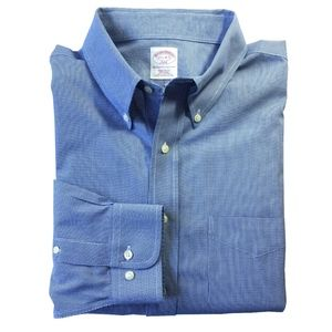 Brooks Brothers Blue Regular Fit Shirt